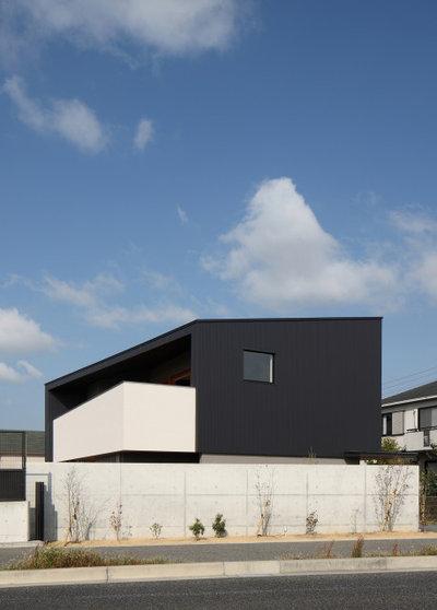 モダン 家の外観 by Studio tanpopo-gumi 一級建築士事務所