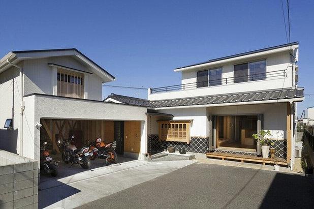 和室・和風 家の外観 by 株式会社atliesta402design一級建築士事務所