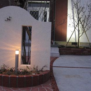 Zen exterior home idea in Tokyo Suburbs
