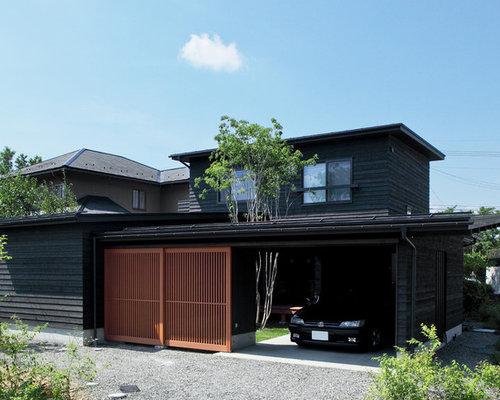 Asian Exterior Home Ideas Amp Design Photos Houzz