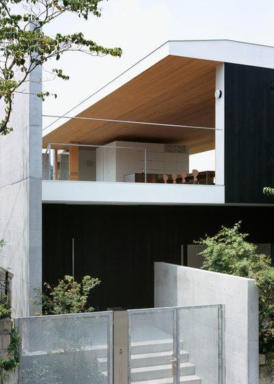 モダン 家の外観 by 栗原隆建築設計事務所