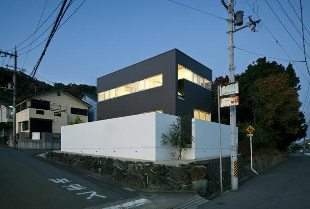 コンテンポラリー 家の外観 by 辻岡直樹建築設計事務所株式会社