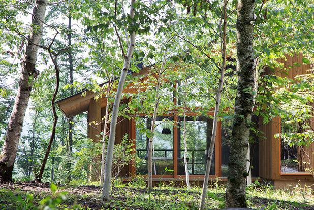 家の外観 by 林建築設計室 │ HAYASHI ARCHITECTS