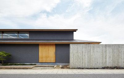 Houzzツアー:京都・歴史街道沿いの築100年の古民家を、重厚な和モダン住宅に