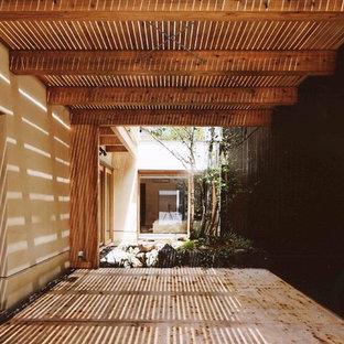Свежая идея для дизайна: дом в восточном стиле - отличное фото интерьера