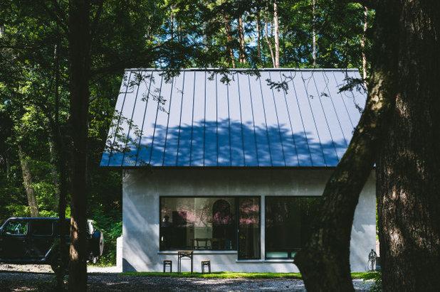 家の外観 by 株式会社ハルタ建築設計事務所