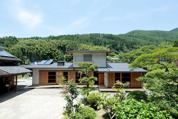 北欧 家の外観 by 山道勉建築