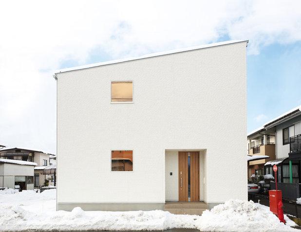 家の外観 by ハウスデザイン一級建築士事務所
