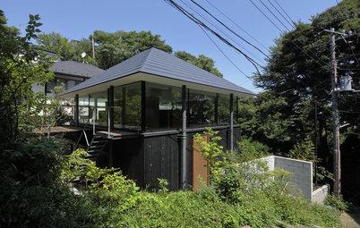 鎌倉の景色を取り込み、空気感を満喫できる建築家の自邸