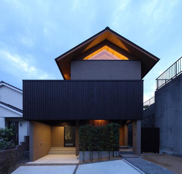 アジアン 家の外観 by Studio tanpopo-gumi 一級建築士事務所