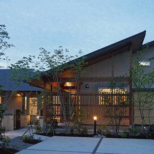 ~深い軒の外部空間を楽しむ『平屋の大屋根の美しい家』