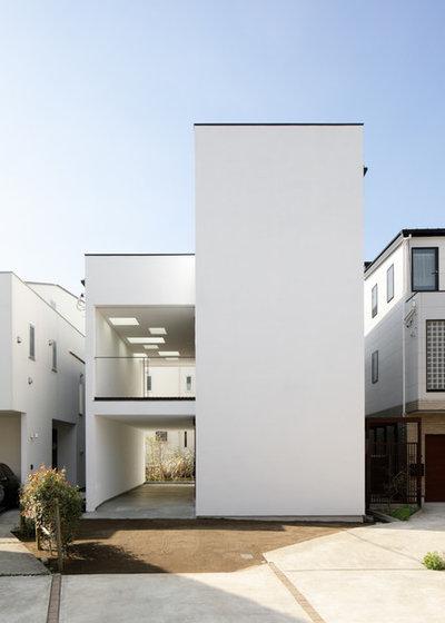 モダン 家の外観 by アトリエ137 | atelier137 Architectural Design Office