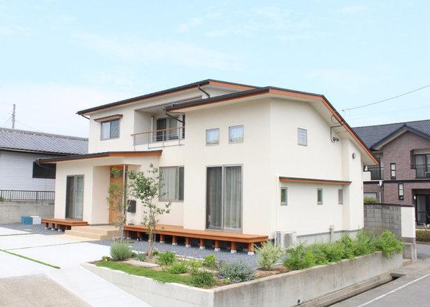 北欧 家の外観 by Interior & Lifestyle Design RH+ (アールエイチプラス)
