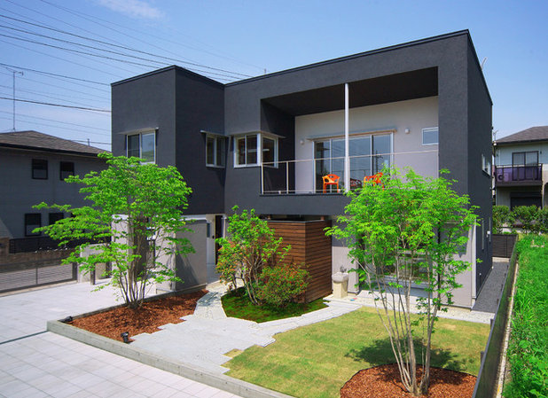 Contemporary Exterior by 塩田 真吾 ⊆ ㈱シオダ建築デザイン事務所(Shioda Arch&Atelier)