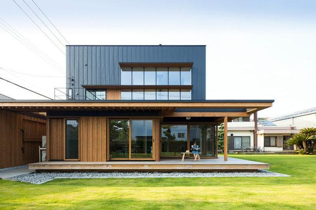 コンテンポラリー 家の外観 by ツクリト建築設計事務所
