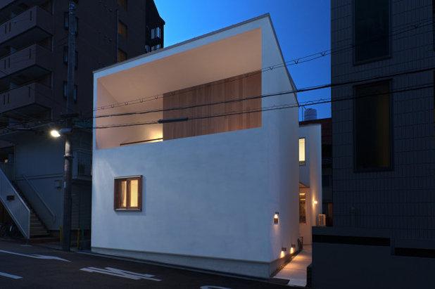 コンテンポラリー 家の外観 by スエロ建築研究所
