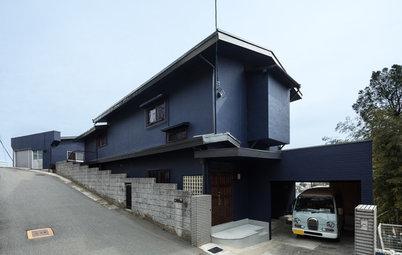 古さと新しさが融合する、高台に立つEARTH HOUSE