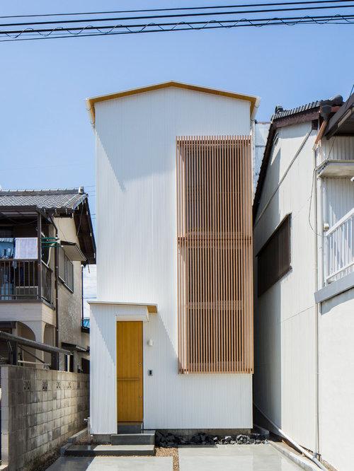 Asiatische Häuser asiatische häuser mit metallfassade ideen für die fassadengestaltung