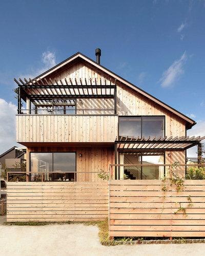 アジアン エクステリア (外観・外構) by こぢこぢ一級建築士事務所