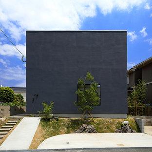 他の地域のモダンスタイルのおしゃれな家の外観の写真
