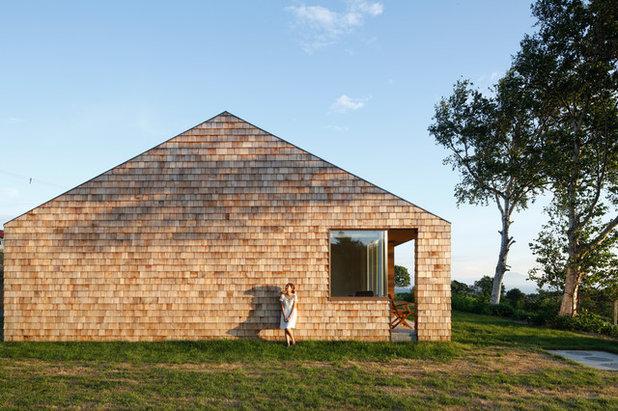 Casa Di Campagna Traduzione Francese : Le case di houzz: unelegante casa di campagna in hokkaido