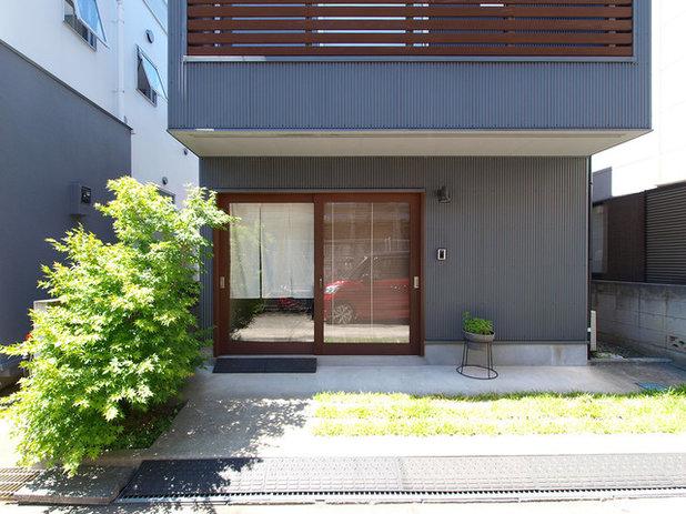 インダストリアル エクステリア (外観・外構) by 志田茂建築設計事務所