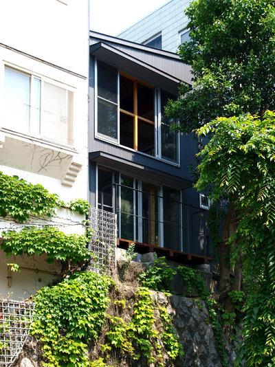 インダストリアル 家の外観 by 志田茂建築設計事務所