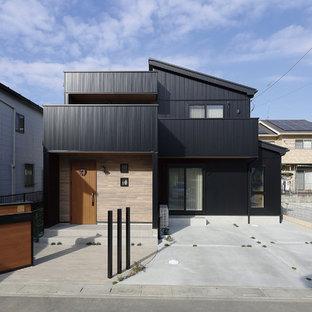 他の地域のインダストリアルスタイルのおしゃれな家の外観の写真
