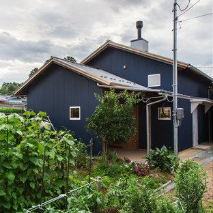 Идея дизайна: дом в стиле лофт