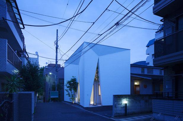 コンテンポラリー 家の外観 by yasuko otsuka|ノアノア空間工房