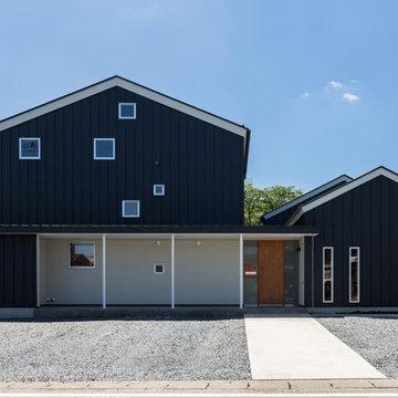 OGW邸 つむぎの町に建つ二世帯住宅
