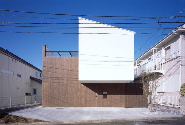 モダン 家の外観 by 株式会社APOLLO一級建築士事務所