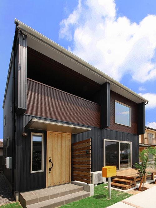 Black Exterior Design Ideas, Remodels & Photos