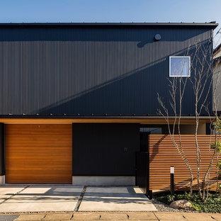 他の地域の和風のおしゃれな家の外観 (長方形) の写真