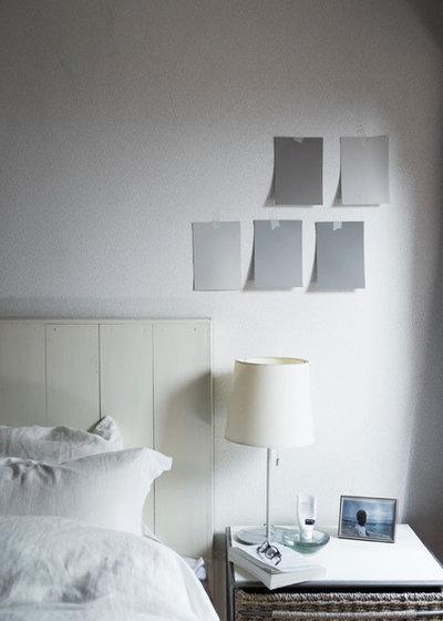 コンテンポラリー 寝室 by Heather Brackin