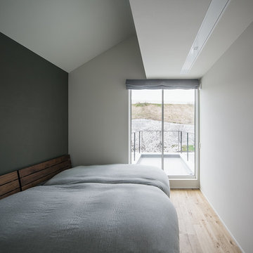 アウトドアリビングの家  外部空間をとりこむ住まい