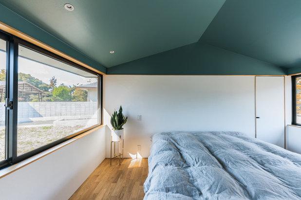 コンテンポラリー 寝室 by Smart Running 一級建築士事務所