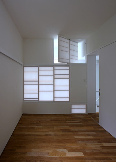 和室・和風 ベッドルーム by アトリエハコ建築設計事務所