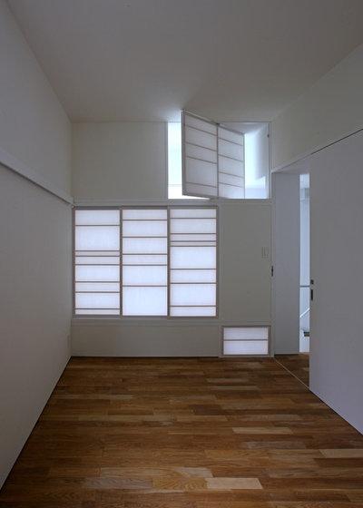 Japanese Bedroom by アトリエハコ建築設計事務所