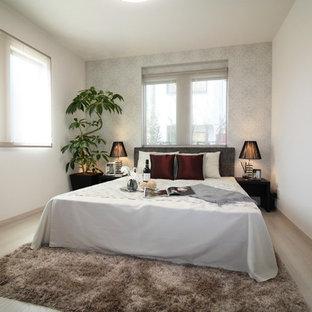 東京23区のモダンスタイルのおしゃれな寝室のインテリア