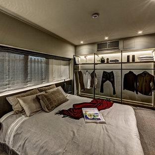 東京23区のインダストリアルスタイルのおしゃれな寝室