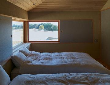 ヴィラの宿泊室
