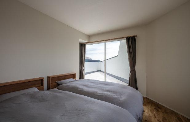 コンテンポラリー 寝室 by 株式会社seki.design
