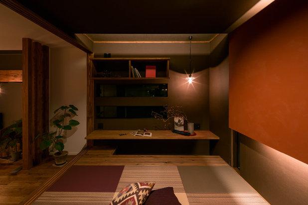 ベッドルーム by 株式会社 建舎団居 STUDIO MADOI