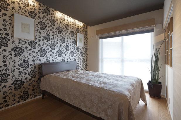 コンテンポラリー ベッドルーム by 空間工房 用舎行蔵 一級建築士事務所