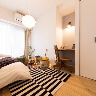 東京23区のコンテンポラリースタイルのおしゃれな寝室
