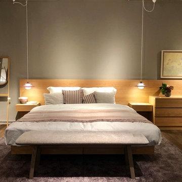 北欧 寝室