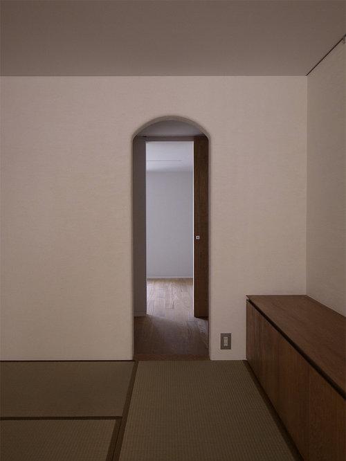 schlafzimmer mit tatami boden ideen design bilder. Black Bedroom Furniture Sets. Home Design Ideas