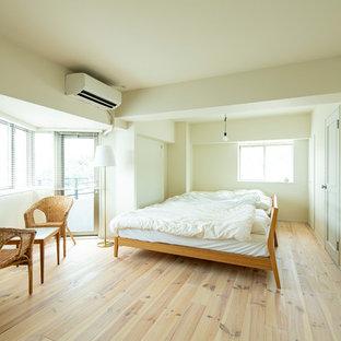福岡の北欧スタイルのおしゃれな寝室