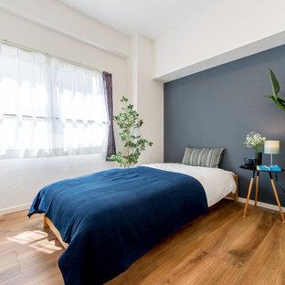 東京23区のラスティックスタイルのおしゃれな寝室